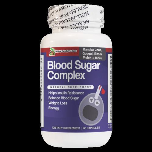 Blood Sugar Complex 60 Capsules Help Balance Blood Sugar