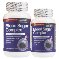 Blood Sugar Complex 60 and 120 Capsules Natural Supplement To Help Insulin Resistance