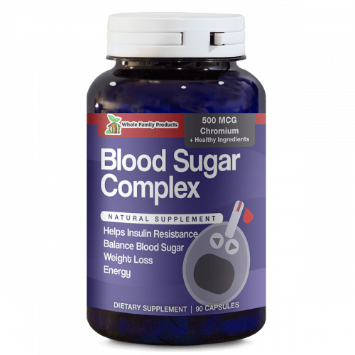 Blood Sugar Complex 90 Capsules Natural Supplement To Help Insulin Resistance