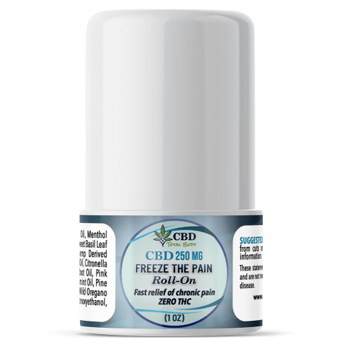 CBD Freeze The Pain Roll on 1oz