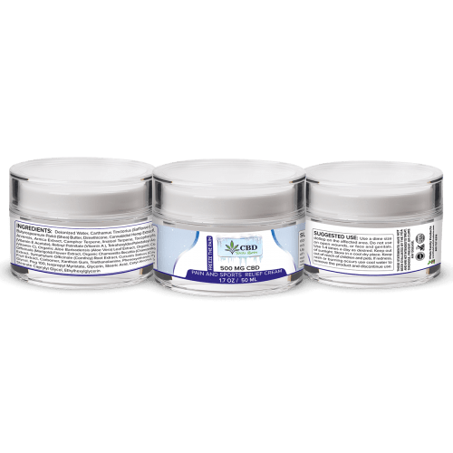 CBD Pain and Sports Relief Cream