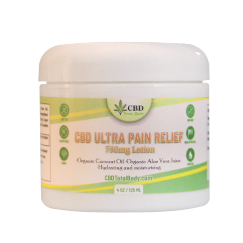 CBD Ultra Pain Relief Cream 750mg Lotion | Whole Family Products