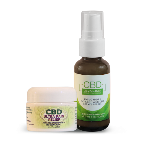 CBD Ultra Pain Relief Cold Processed