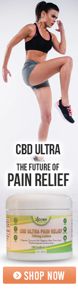 CBD Ultra Pain Relief Cream Banner 4