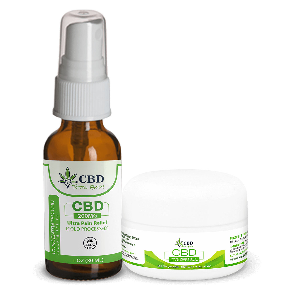 CBD Ultra Pain Relief Cream Cold Processed for Pain Relief and Inflammation