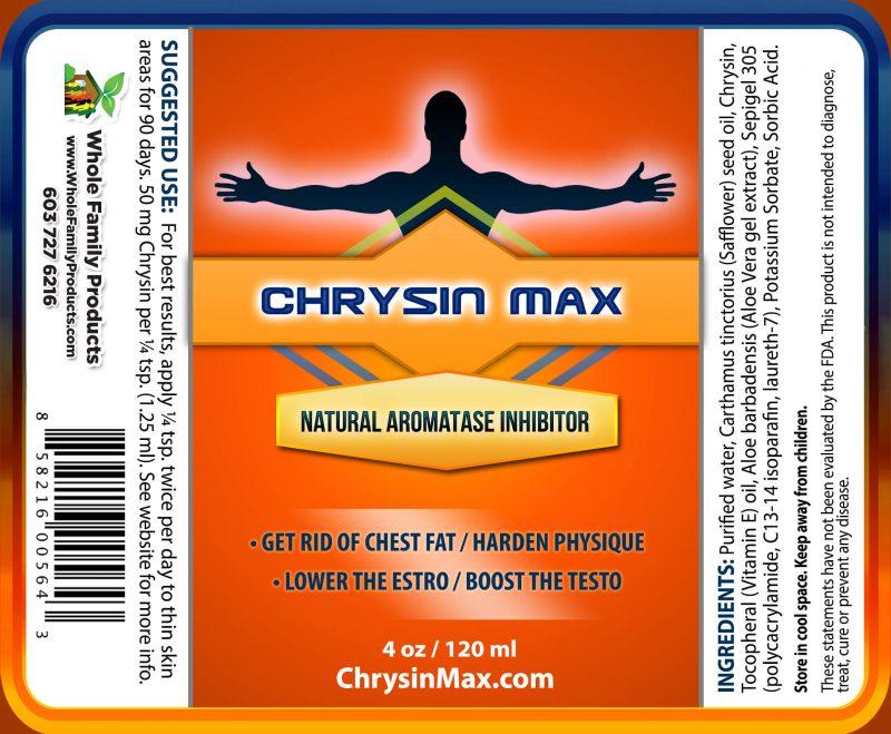 Chrysin Max 4oz Pump