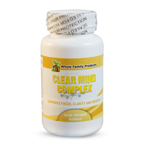 Clear Mind Complex Best Vitamins for Memory | Whole Family Products