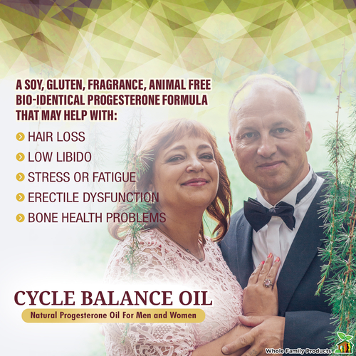Cycle Balance Oil - Natural Progesterone Oil for Men and Women