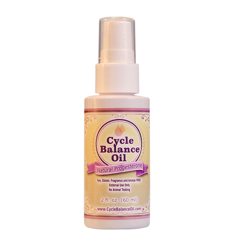Cycle Balance Progesterone Oil | Whole Family Products