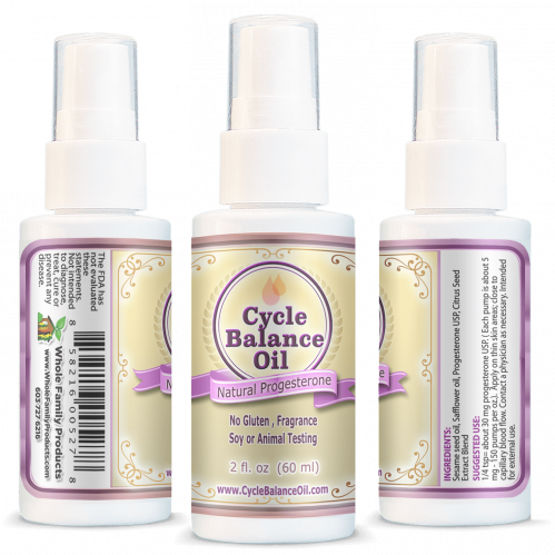 Cycle Balance Progesterone Oil Helps Men with Low Libido