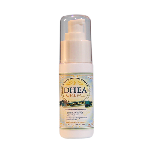 DHEA Cream 2oz Pump | Whole Family Products