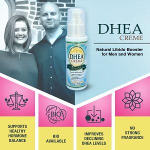 DHEA Hormone Cream - Natural Libido Booster