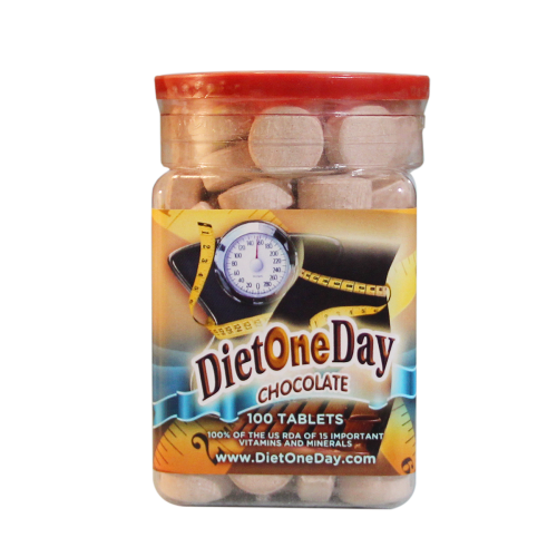 Diet One Day Chocolate 100 tab | Whole Family Products