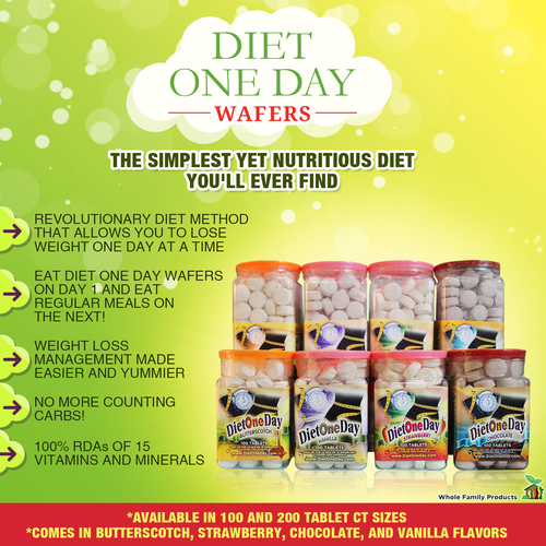 Diet One Day Wafers Best Diet for Weight Loss