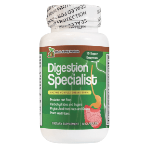 Digestion Specialist 60 Capsule Best Complete Digestive Enzyme Supplement