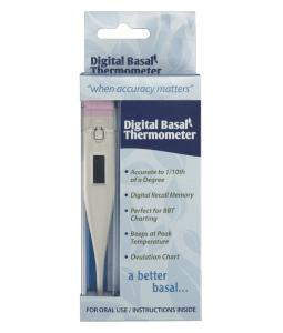 Digital Basal Thermemoter