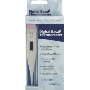 Digital Basal Thermemoter | Whole Family Products