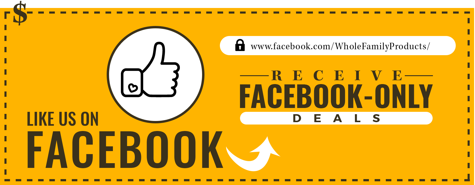 Facebook Likes - 5% coupon