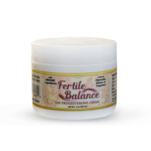 Fertile Balance USP Progesterone Cream | Whole Family Products