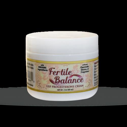 Fertile Balance USP Progesterone Cream | Whole Family Products