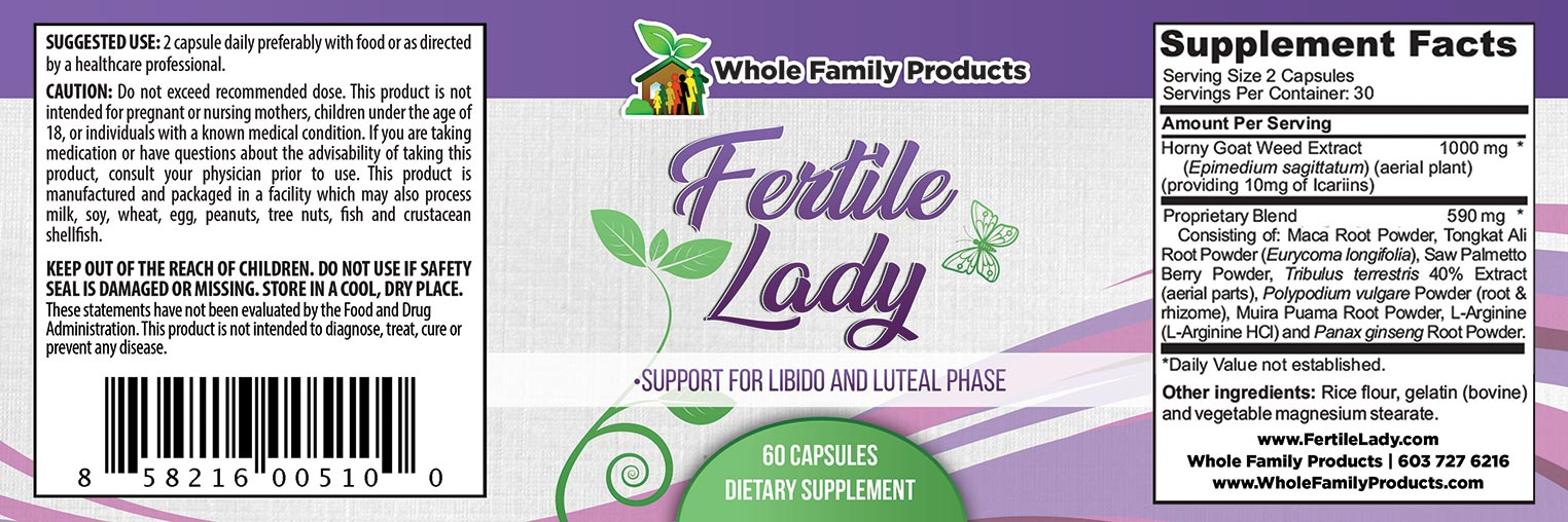 Fertile Lady Label