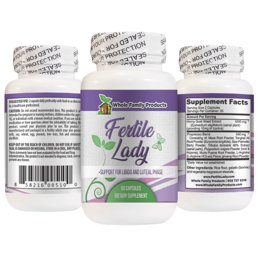 Fertile Lady Support for Libido and Luteal Phase