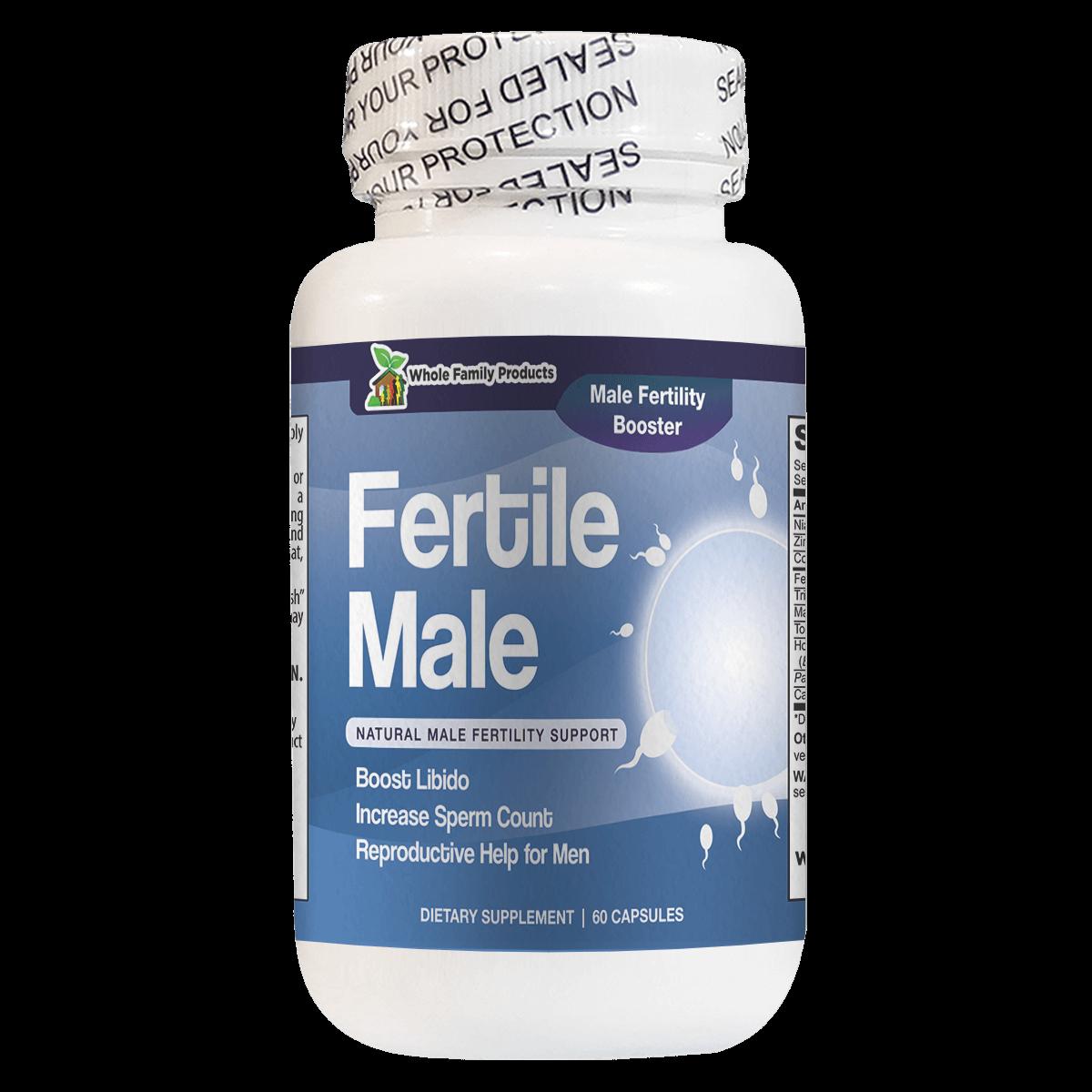 Fertile Male Natural Male Fertility Support Boost Libido