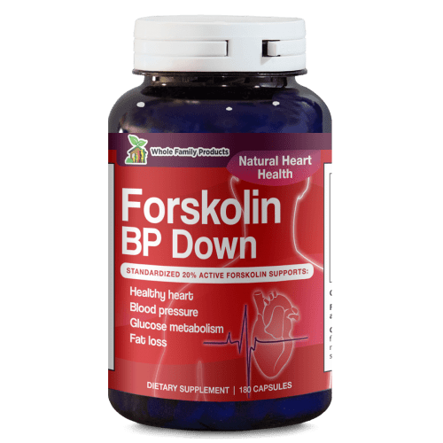 Forskolin BP Down 180ct Best Forskolin Supplement
