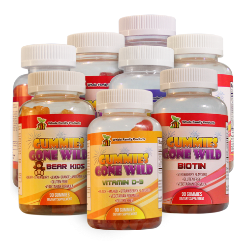 Gummies Gone Wild | Whole Family Products