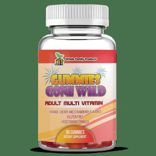 Gummies Gone Wild Adult Multi Vitamins Gummies Supplement