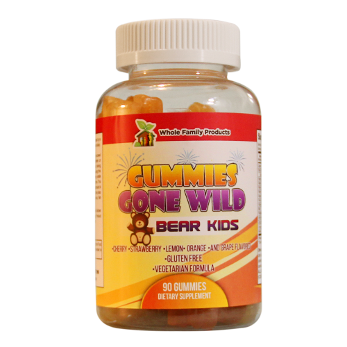 Gummies Gone Wild Bear Kids | Whole Family Products