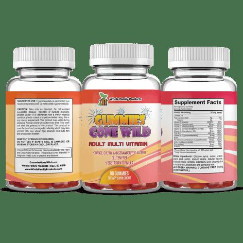 Gummies Gone Wild Best Adult Multi Vitamin Gummies