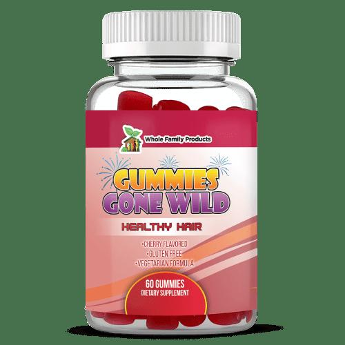 Gummies Gone Wild Healthy Hair Supplement