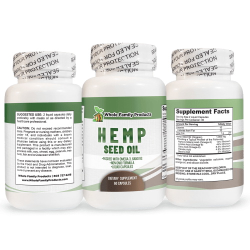 Hemp Seed Oil Improve Heart Health