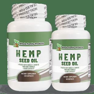 Hemp Seed Oil Supplements