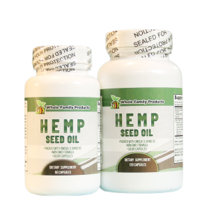 Hemp Seed Oil by Whole Family Products