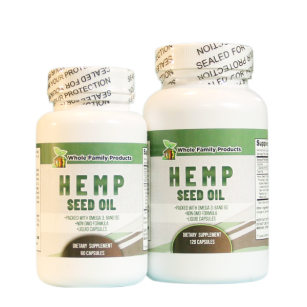 Hemp Seed Oil Supplement | Whole Family Products