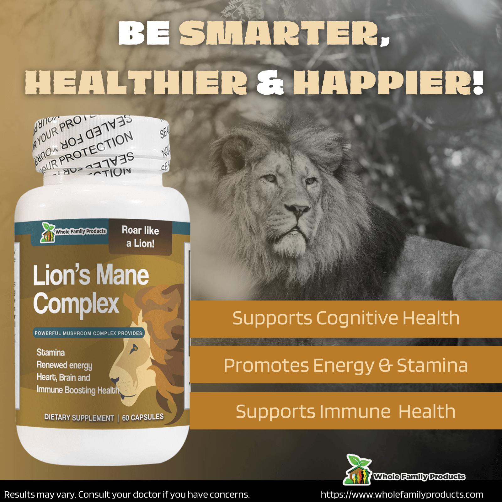 Lions Mane Complex WFP Infographics