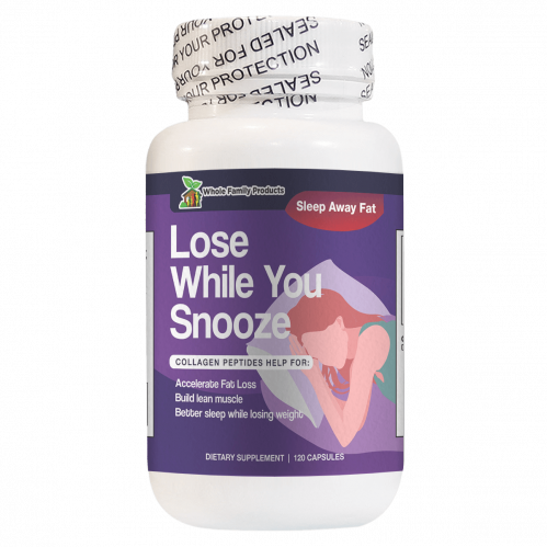 Lose While You Snooze Collagen Peptides Help Accelerate Fat Loss
