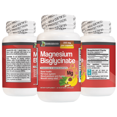 Magnesium Bisglycinate Supports Blood Pressure and Muscle Cramp Relief