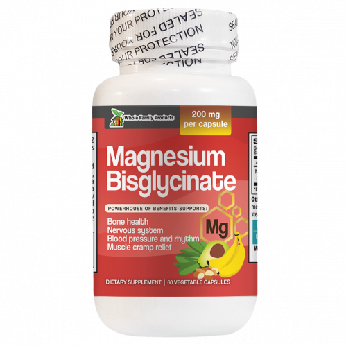 Magnesium Bisglycinate Supports Bone Health and Nervous System