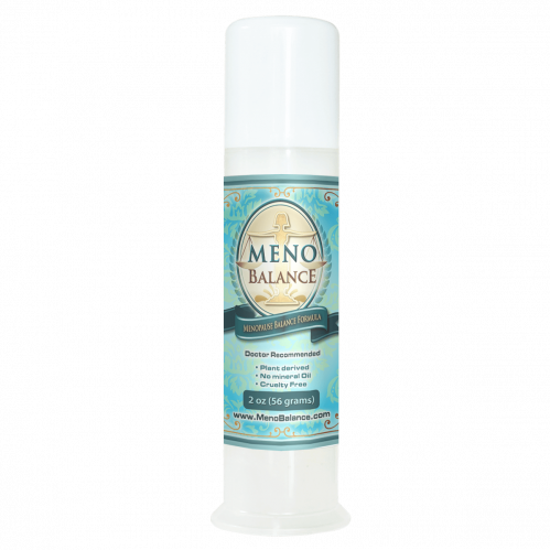 MenoBalance Cream 2oz Pump Best Natural Progesterone Cream on the Market