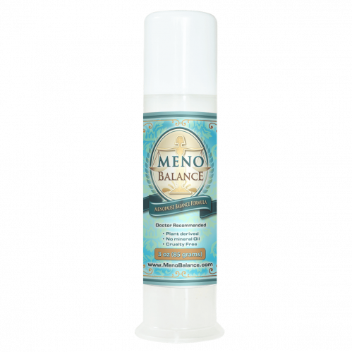 MenoBalance Cream 3oz Pump Help Reduce PMS Symptoms