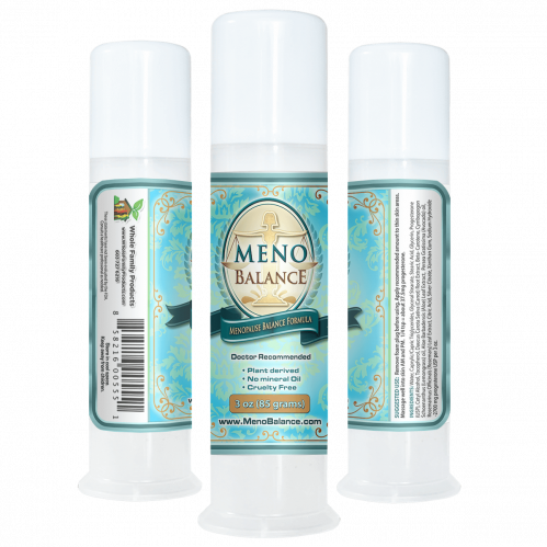 MenoBalance Cream 3oz Pump Natural Remedy for Menopause