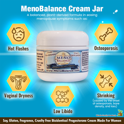 MenoBalance Cream Best Progesterone Cream for Menopause
