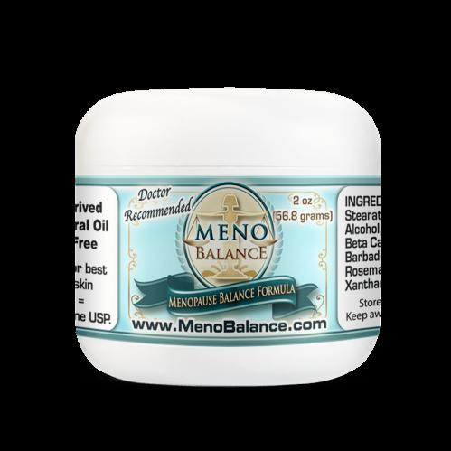 Menobalance Cream 2oz Jar Best Progesterone Cream for Menopause