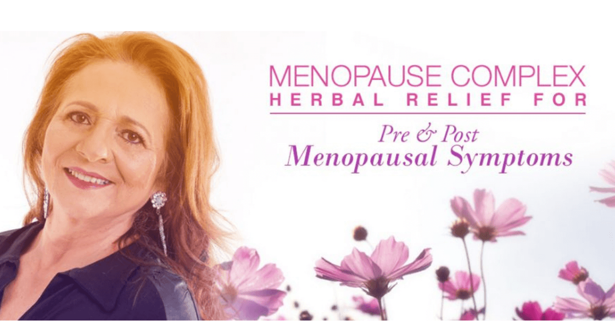 Menopause Complex: Herbal Relief for Pre & Post Menopausal Symptoms