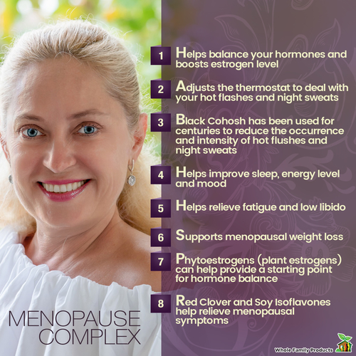 Menopause Complex Natural Menopause Relief Supplement