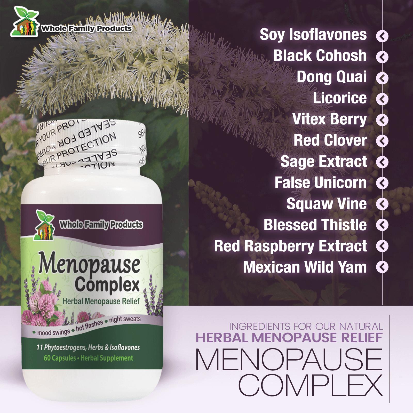 Menopause Complex WFP Infographics