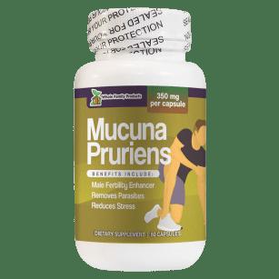 Mucuna Pruriens 60 Capsules Male Fertility Enhancer